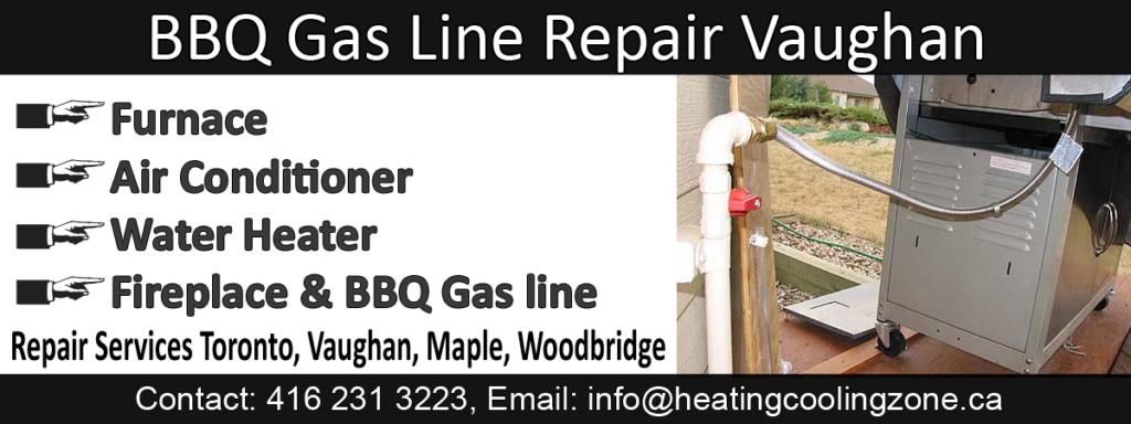 bbq gas line repair vaughan