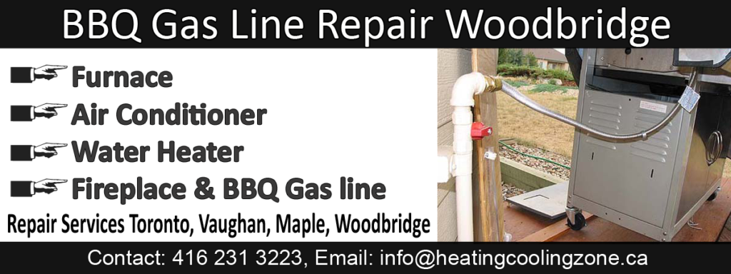 BBQ Gas Line Repair Woodbridge