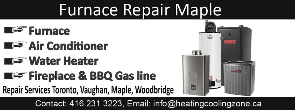 furnace repair maple