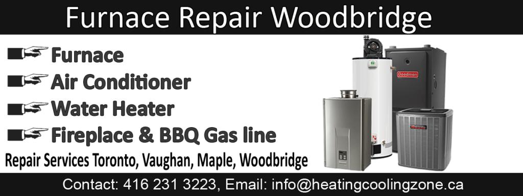 furnace repair woodbridge