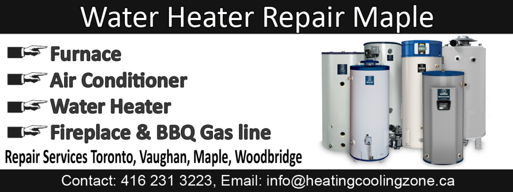 water heater repair maple
