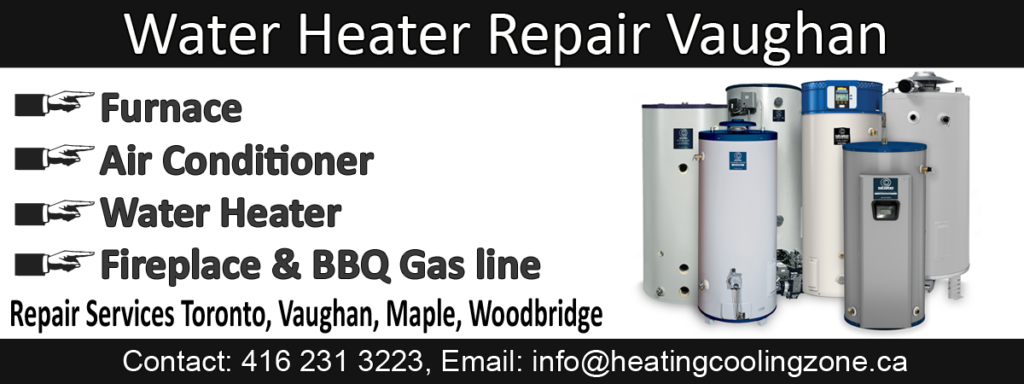 water heater repair vaughan